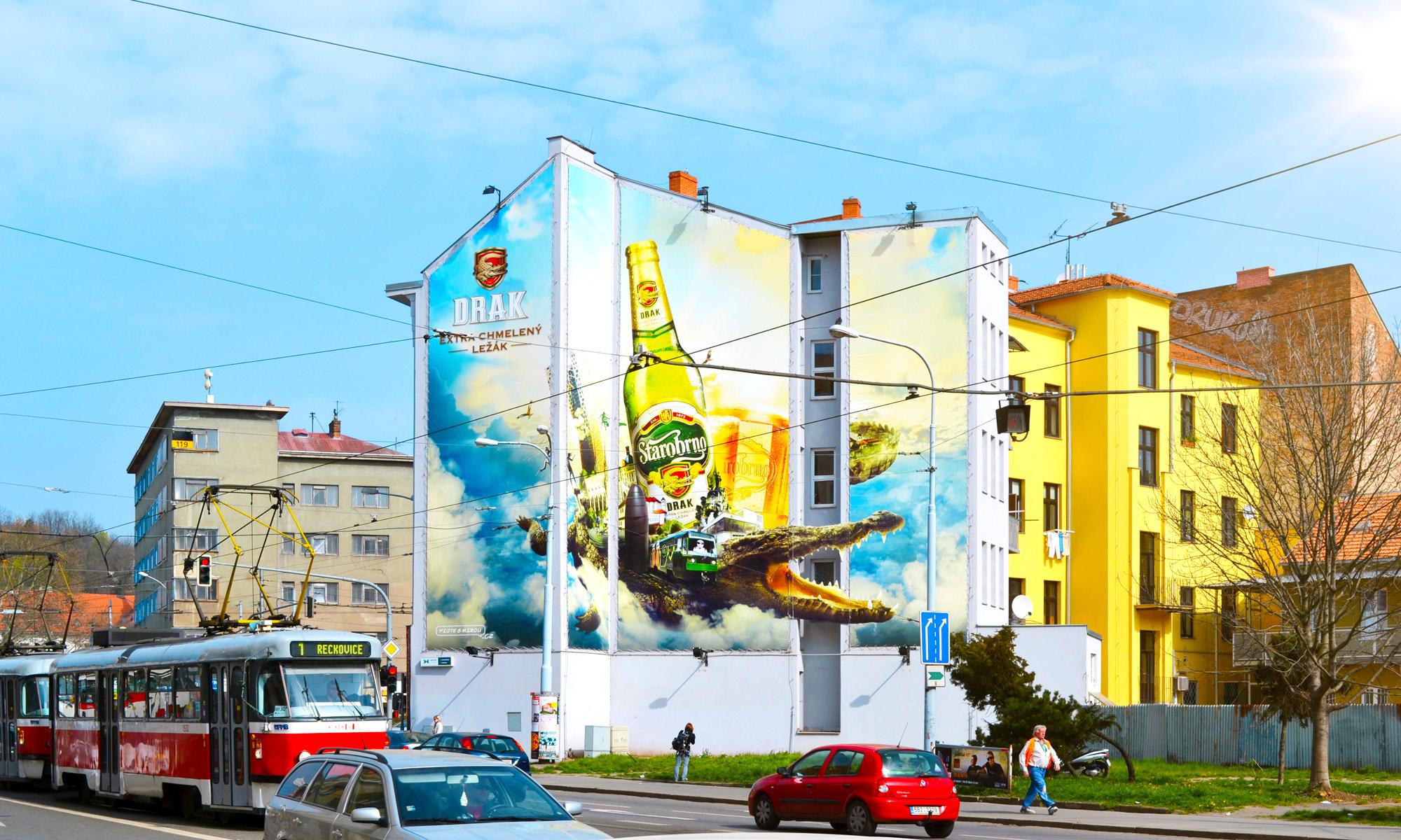 Venkovní reklama - reklamní plocha Mendlovo náměstí 026ZB